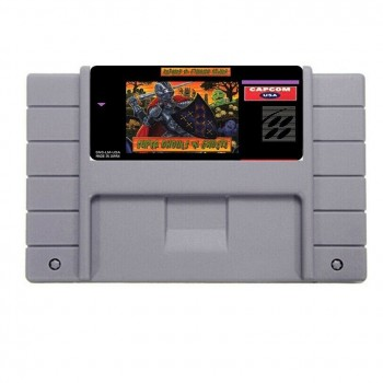 Super Nintendo Super Ghouls 'N Ghosts - SNES - Box With Insert