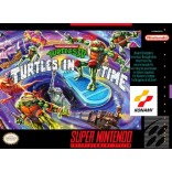 Super Nintendo Teenage Mutant Ninja Turtles IV - Turtles In Time - SNES - Game Only