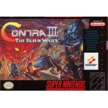 Super Nintendo Contra 3 Alien Wars - SNES Contra III - Game Only