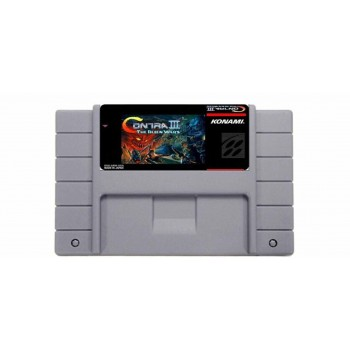 Super Nintendo Contra 3 Alien Wars - SNES Contra III - Game Only