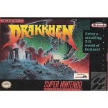 Super Nintendo Drakkhen - SNES Drakken Game Only