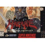Super Nintendo Hagane The Final Conflict - SNES - Box With Insert