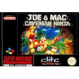 Joe and Mac Caveman Ninja Super Nintendo