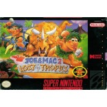 Joe and Mac 2 Lost in the Tropics Super Nintendo (Game Only)