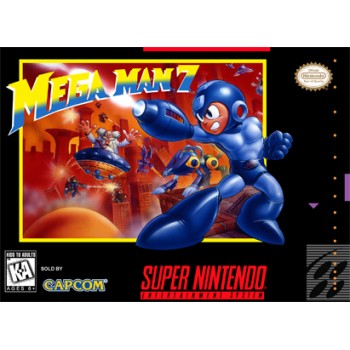 Super Nintendo Megaman 7 - SNES Megaman 7 - Box With Insert