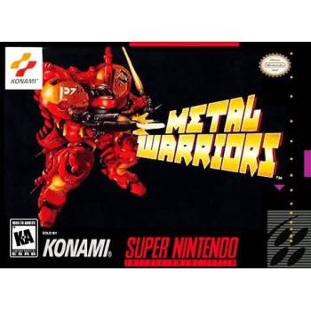 Super Nintendo Metal Warriors - SNES - Game Only
