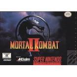 Super Nintendo Mortal Kombat II - SNES Mortal Kombat 2 - Box With Insert