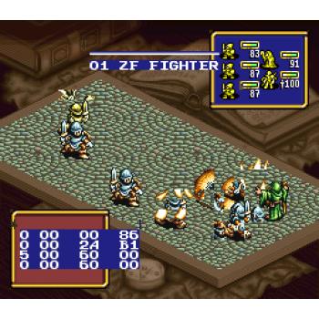Super Nintendo Ogre Battle: The March of the Black Queen