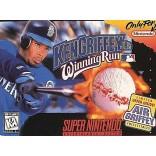 Ken Griffey Jr's Winning Run Super Nintendo