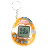 90s Style Virtual Pet Tamagotchi - Tangerine Virtual Digital Pet Toy