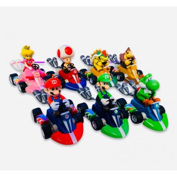 Mario Kart Toy Pull Back Racer - Mario