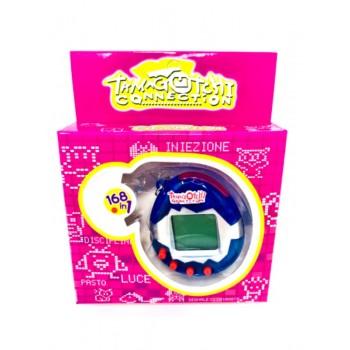 90s Tamagotchi Keychain Pet - Tamagotchi Virtual Pet - Blueberry