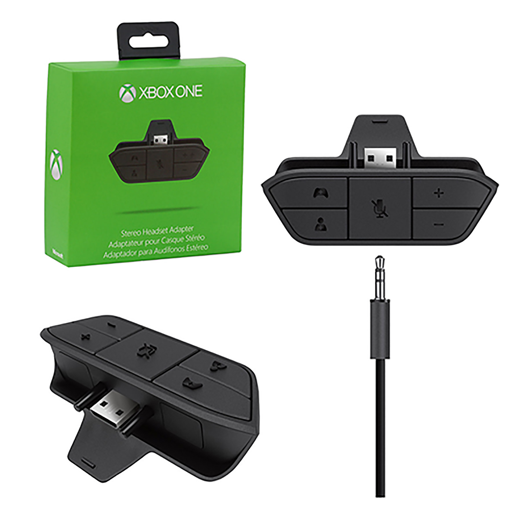 Xbox One Adapter Stereo Headset Adapter Microsoft