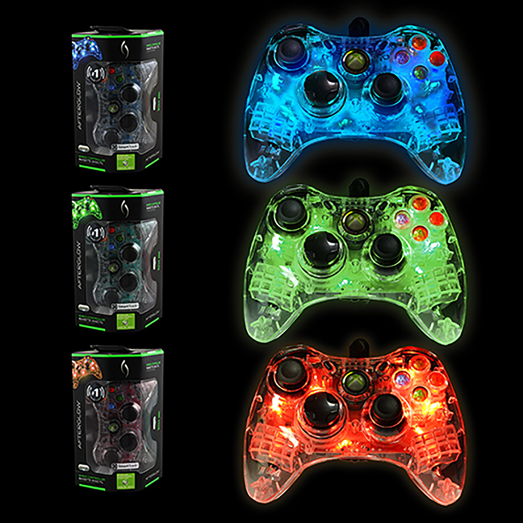 Pdp afterglow xbox 360 controller / Mma world series